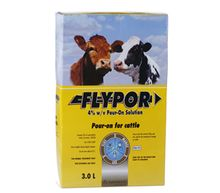 Flypor 4% w/v Pour-on Solution for Cattle