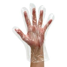Gloves - Clear Poly Short